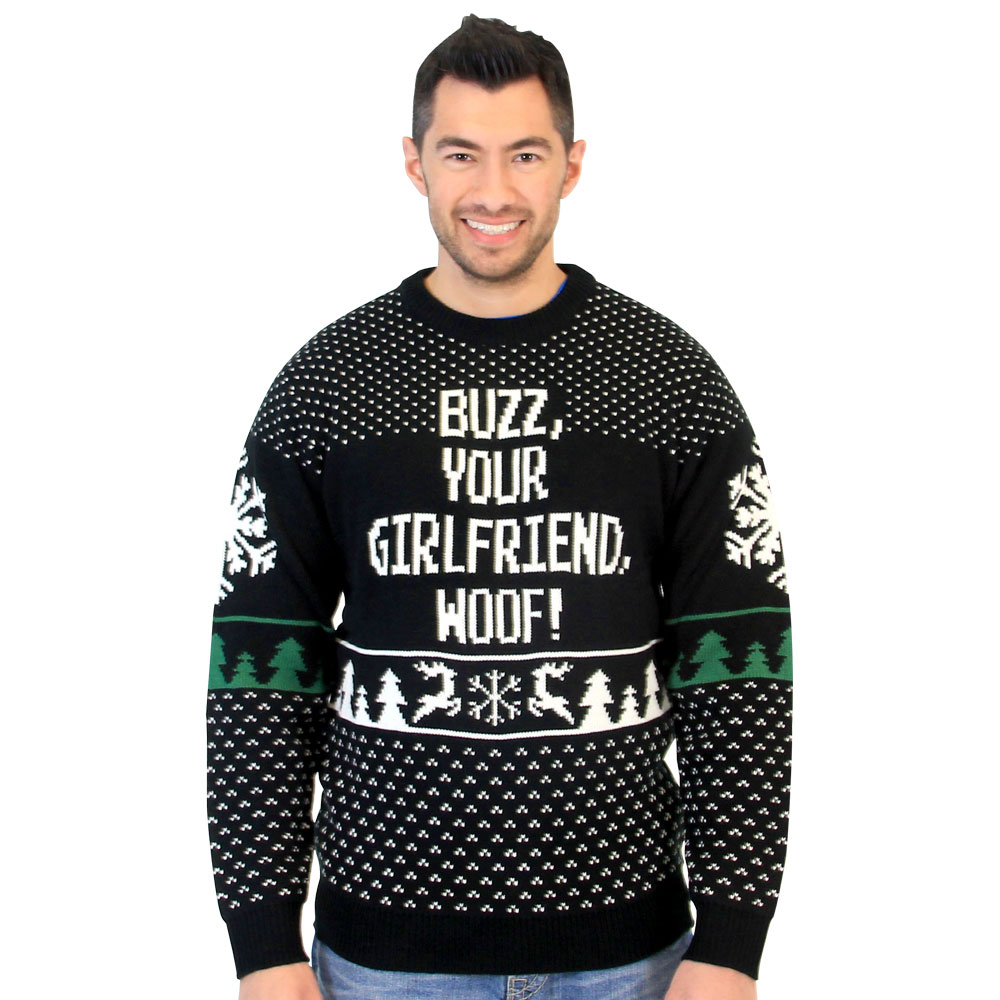 buzz-your-girlfriend-woof-sweater