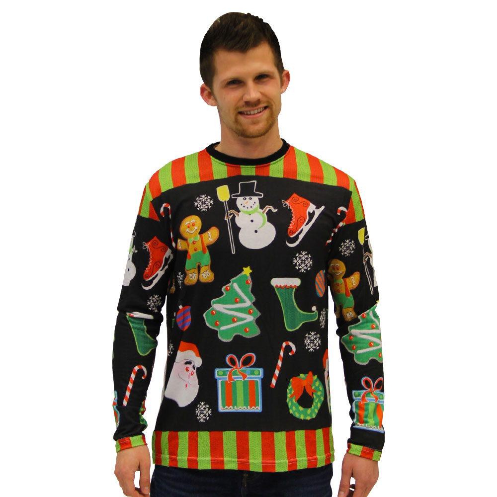 christmas-icons-sublimation-shirt