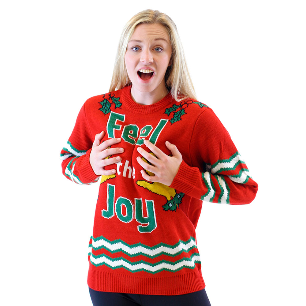 feel the joy christmas sweater - Feel The Joy Christmas Sweater