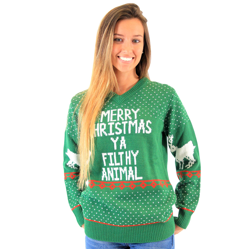 Green Filthy Animal Sweater 46ff348f71ff