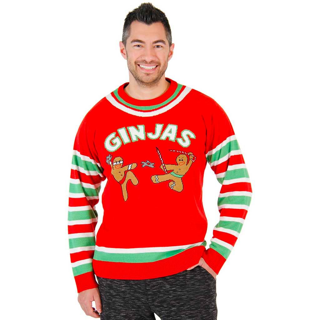 3D Christmas Sweater with Stuffed Moose | UglySweaterCompany