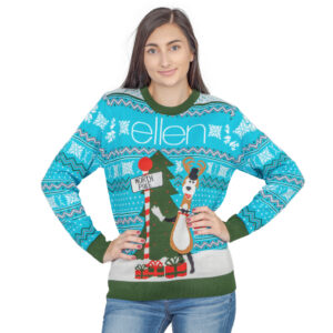The Ellen Show Ugly Christmas Sweater