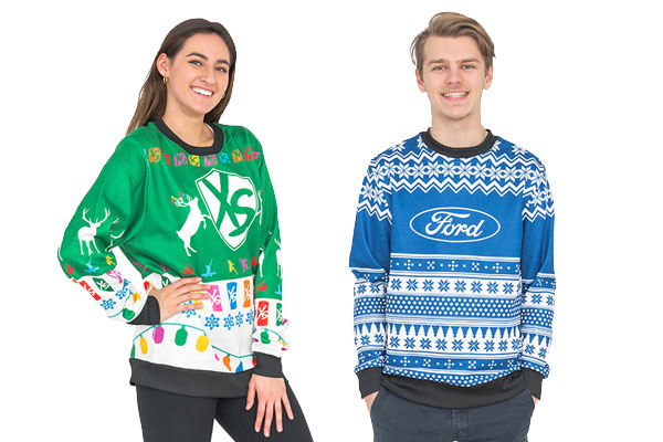 Custom Sublimated Ugly Sweaters
