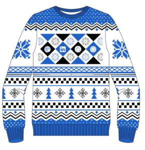 LinkedIn Ugly Christmas Sweater