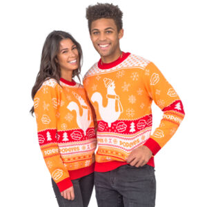 Popeyes Ugly Christmas Sweater 2