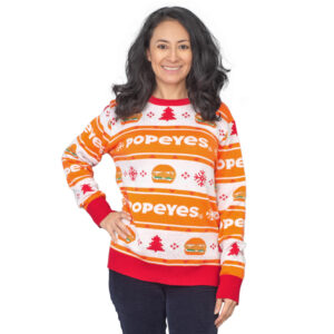Popeyes Ugly Sweater 1